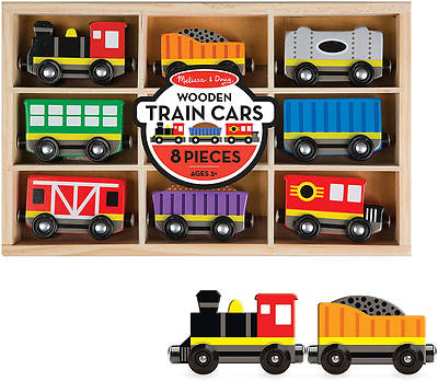 Picture of Wooden Train Cars