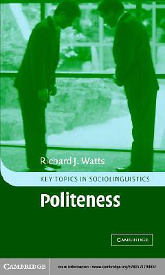 Politeness [Adobe Ebook]