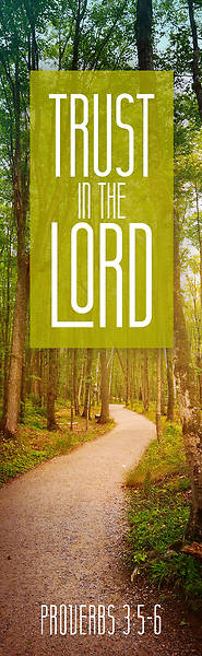 Picture of Trust in the Lord Bookmark - Pack of 25