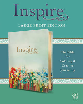 Picture of Inspire Bible Large Print NLT (Leatherlike, Multicolor)