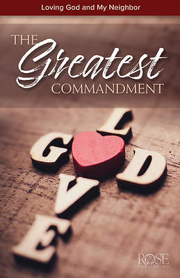 Picture of The Greatest Commandment Pamphlet