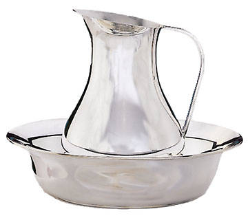 Ewer, Silver-Plated Copper