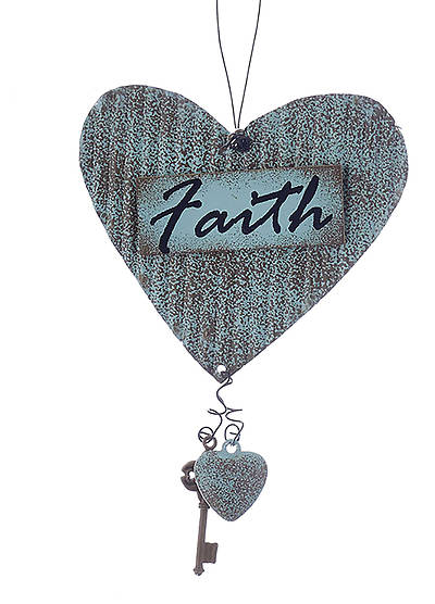 Faith Metal Ornament