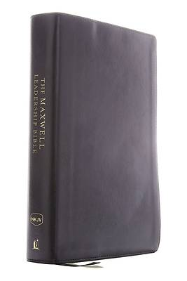 Picture of Nkjv, Maxwell Leadership Bible, Third Edition, Compact, Leathersoft, Black, Comfort Print