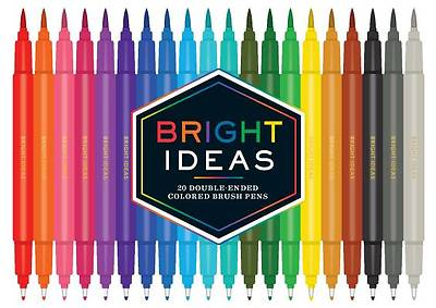 Picture of Bright Ideas Double-Ended Colored Brush Pens