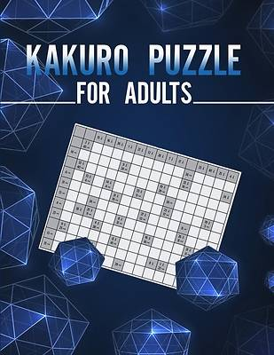 Picture of Kakuro puzzle for adults