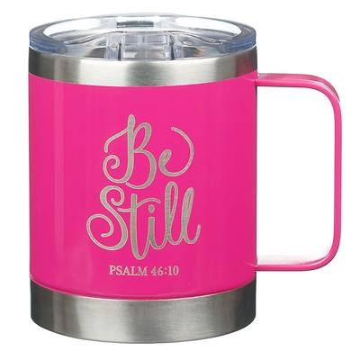 Picture of Stainless Steel Mug Be Still Psalm 46