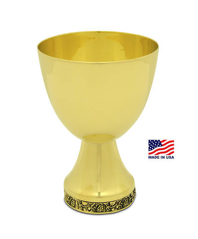 THE CUP GOLD PLATED CHALICE