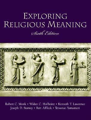Exploring Religious Meaning, 6th ed.