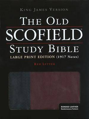 Old Scofield Study Bible-KJV-Large Print