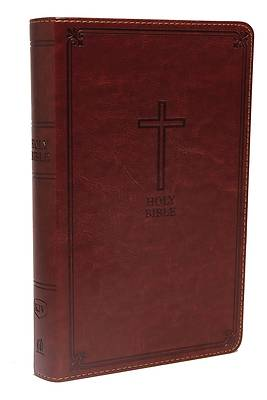 Picture of KJV, Deluxe Gift Bible, Imitation Leather, Red, Red Letter Edition