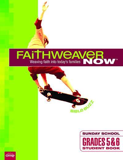 Picture of FaithWeaver Now Grades 5-6 Student Book Bible Buzz Winter 2020-2021