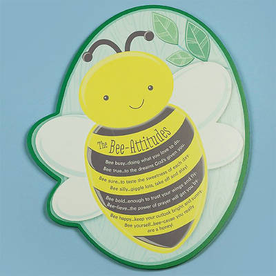 The Bee-Attitudes Shaped Plaque