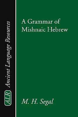 Grammar of Mishnaic Hebrew