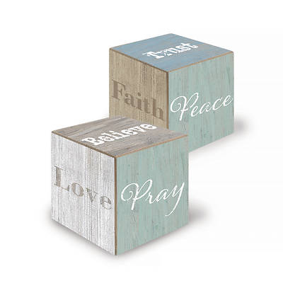 Picture of Prayer Cube with Words