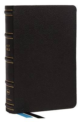 Picture of Nkjv, Compact Bible, MacLaren Series, Genuine Leather, Black, Comfort Print