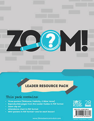 Picture of 28nineteen Zoom Leader Resource Pack