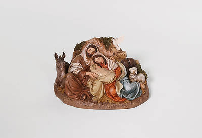 """Picture of Restful Holy Family Figurine 9.5"""""""