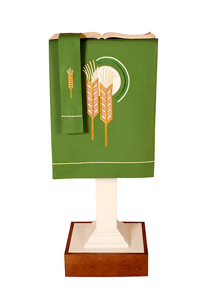 Picture of Abbott Hall Vision Series N5349B Ordinary Time Lectern Scarf