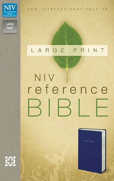 New International Version Reference Bible, Large Print