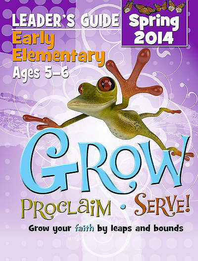 Picture of Grow, Proclaim, Serve! Early Elementary Leader Guide - Download 3/9/2014