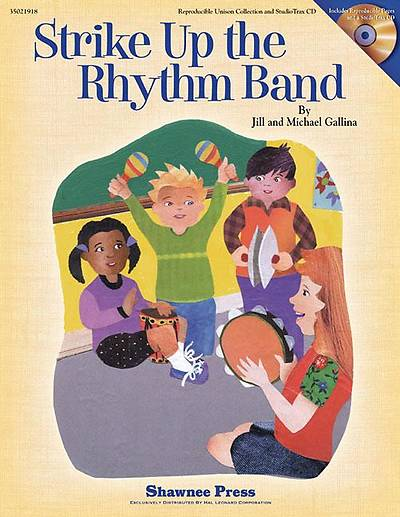 Strike Up the Rhythm Band With CD (Audio)