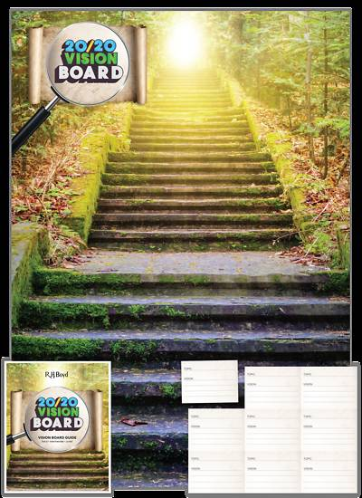 Picture of Vacation Bible School (VBS) 2020 20/20 Vision: Vision Board With Guide And Cards