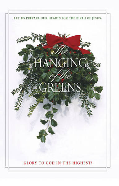 Picture of Hanging of the Greens Bulletin 2007, Regular (Package of 50)
