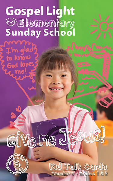 Gospel Light Elementary Grades 1 & 2 KidTalk Cards Summer (pkg5)