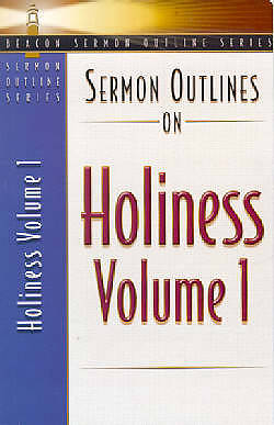 Picture of Sermon Outlines on Holiness volume 1