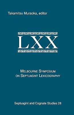 Picture of The Melbourne Symposium on Septuagint Lexicography