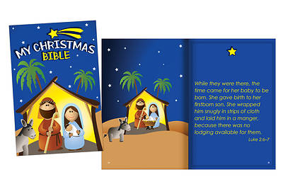 Picture of My Christmas Bible Softcover Book