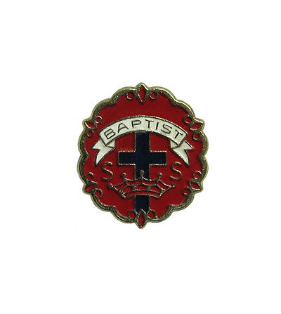 Picture of Baptist 6 Month Sunday School Attendance Pin