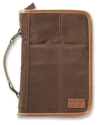 Picture of Aviator Suede Extra Large Brown Book & Bible Cover
