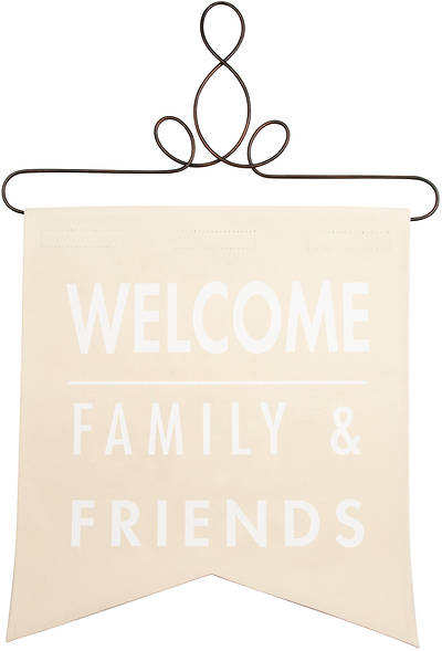 "Picture of Banner- Welcome - 14"" x 16"""