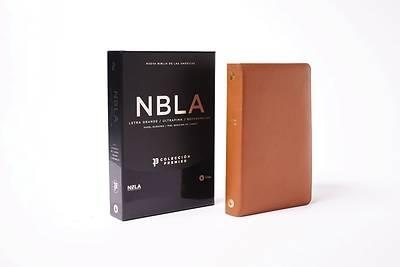 Picture of Nbla Biblia Ultrafina, Colección Premier, Caramelo, Edición Letra Roja