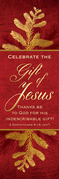 Picture of Celebrate the Gift of Jesus Christmas Bookmark