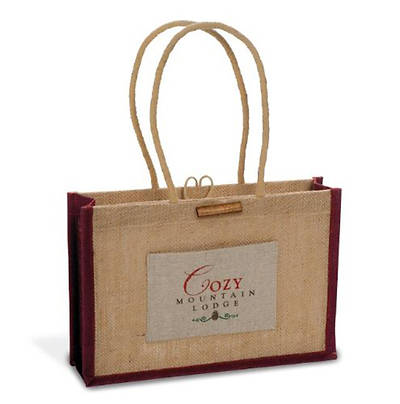 Cozy Mountain Lodge Tote Bag