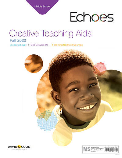 Echoes Middle School Creative Teaching Aids Fall