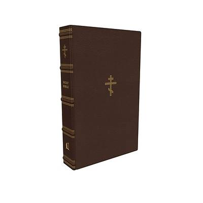 Picture of The Orthodox Study Bible, Leathersoft, Brown