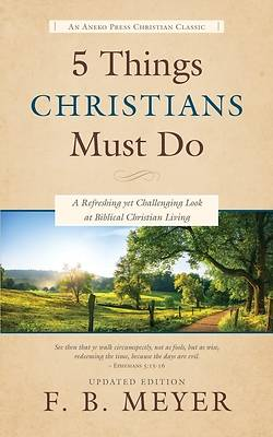 Picture of 5 Things Christians Must Do