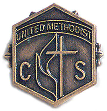 United Methodist 3 Month Church School Attendance Pin