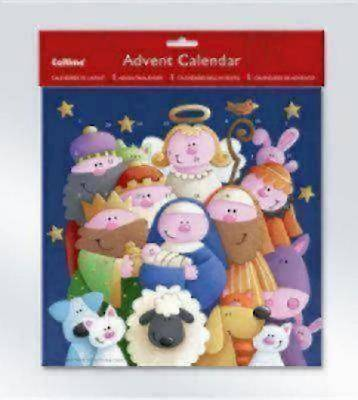 Nativity Advent Cartoon Calendar