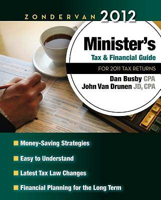 Zondervan 2012 Ministers Tax and Financial Guide