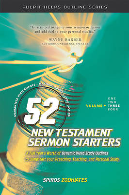 Picture of 52 New Testament Sermon Starters Volume Three