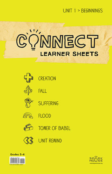 Picture of Connect Grades 5-6 Learner Leaflets Unit 1 Beginnings