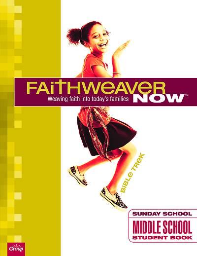Picture of Faithweaver Now Middle School/Junior High Student Papers Bible Trek Winter 2020-2021