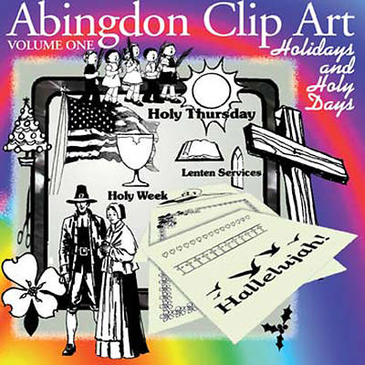 Abingdon Clip Art Volume 1 CD-ROM
