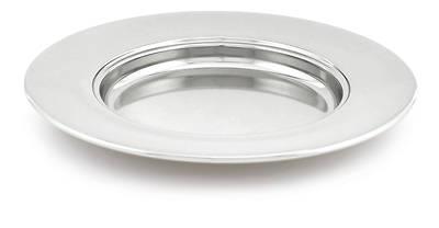 Picture of Silvertone Communionware Bread Plate