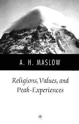 Religions, Values and Peak-Experiences